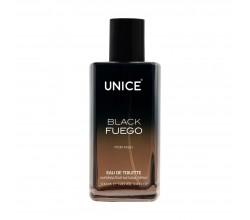UNICE BLACK Fuego EDT Erkek parfüm, 100 ml